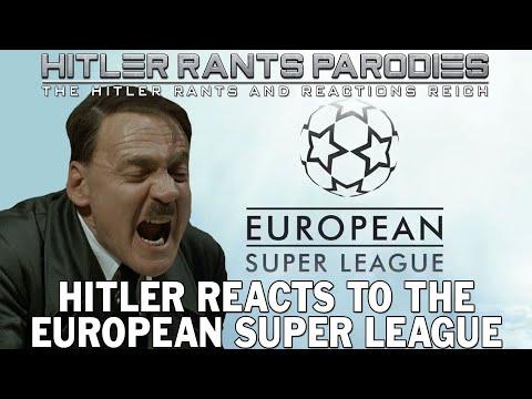 Hitler reacts to the European Super League
