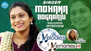 Singer Mohana Bhogaraju Exclusive Interview || Melodies And Memories #7