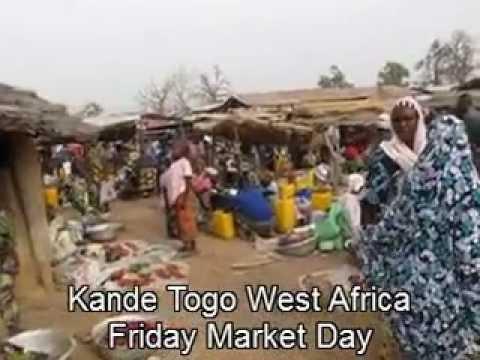 Market Day in Kande Togo West Africa