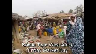 Market Day in Kande Togo West Africa