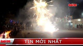 Bất chấp lệnh cấm, người dân vẫn đốt pháo rầm rộ