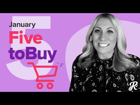 RetailMeNot's Top 5 to Buy in January