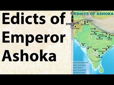 Edicts of Emperor Ashoka