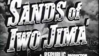 Sands Of Iwo Jima Theatrical Movie Trailer (1949)