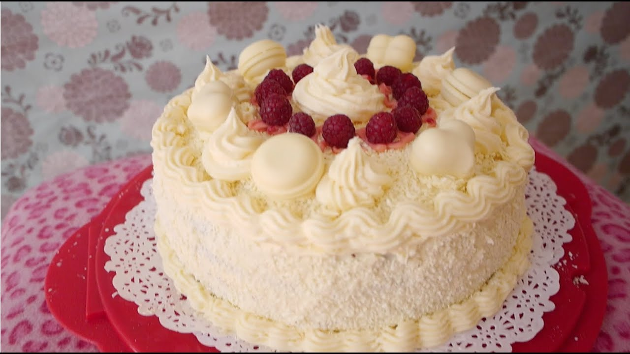 Violet Bakes Epic White Chocolate Raspberry Birthday Cake Catch Up