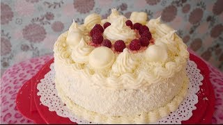 Violet Bakes Epic White Chocolate Raspberry Birthday Cake - Catch Up - Violets Vlogs