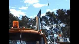 Mack B61 With 671 GM Australia Road Train SJ McCutcheon Narromine