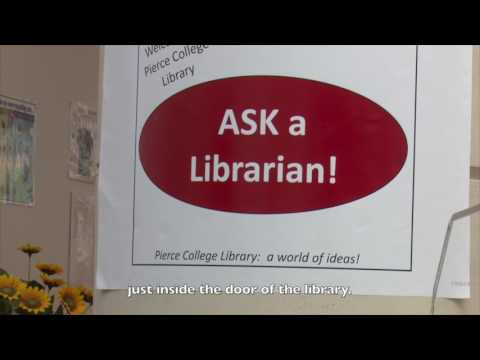 Pierce College Puyallup Library -- College Success overview