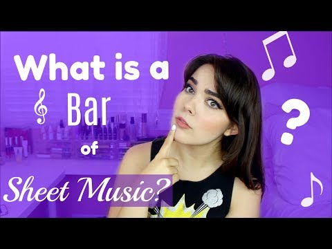 What is a Bar of Sheet Music? | 16 Bar & 32 Bar Audition Help for Singers