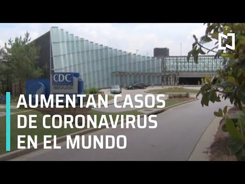 Coronavirus: aumentan casos en el mundo - Las Noticias