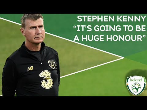 """STADIUM INTERVIEW   Stephen Kenny on Bulgaria   """"It's going to be a huge honour"""""""