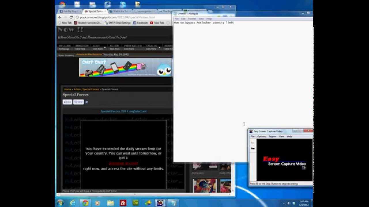 how to get putlocker to work
