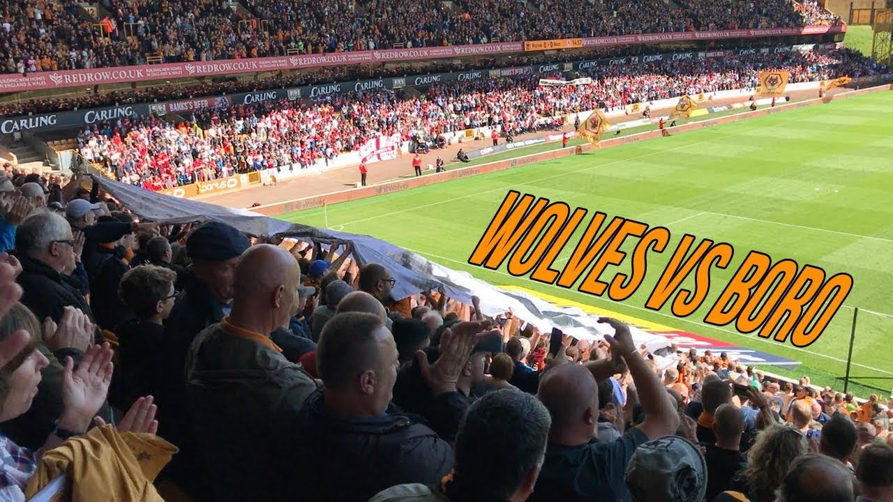 First Game Of The Season Wolves Vs Middlesbrough Matchday