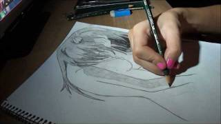 Pencil Drawing: Lucy Elfenlied - Speed Draw | JosYMovieS