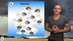 Live-Wetter-Ticker: Gewitter, örtlich Unwetter am Samstag