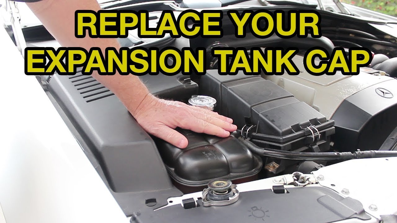 New Radiator Expansion Water Tank Cap Replace Existing Cap