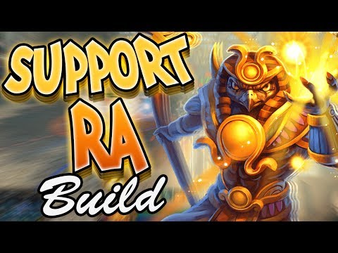 Smite: Support Ra Build - YoU CaN't BuIlD Ra SupPoRt It'S BaD