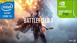 Battlefield 1 Beta (GT 740M/GT 825M/GT 920M | i5 4200u) [Minimum]