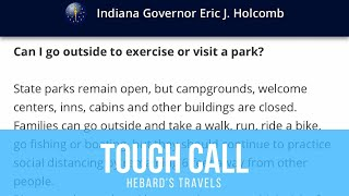 BIG NEWS Indiana Shuts Down RV Parks | RVing During A Pandemic