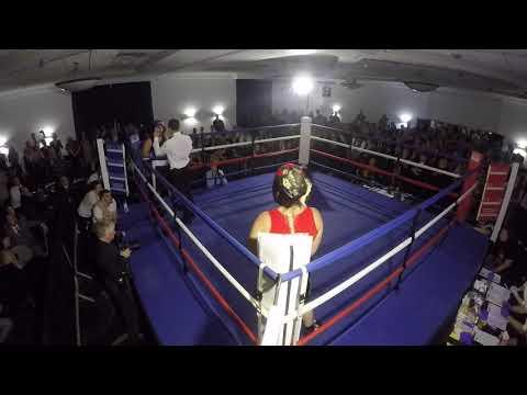 Ultra White Collar Boxing | Telford | Brooke Thomas VS Fiona Garner