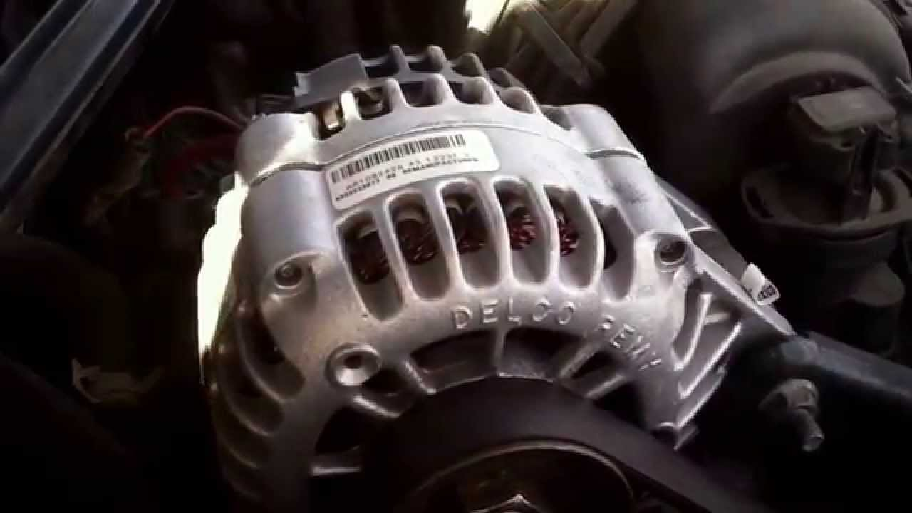 3800 Series 2 Engine Diagram The Story Of An Hour Plot Chevy Lumina Alternator Replacement 1995-2001 - Youtube
