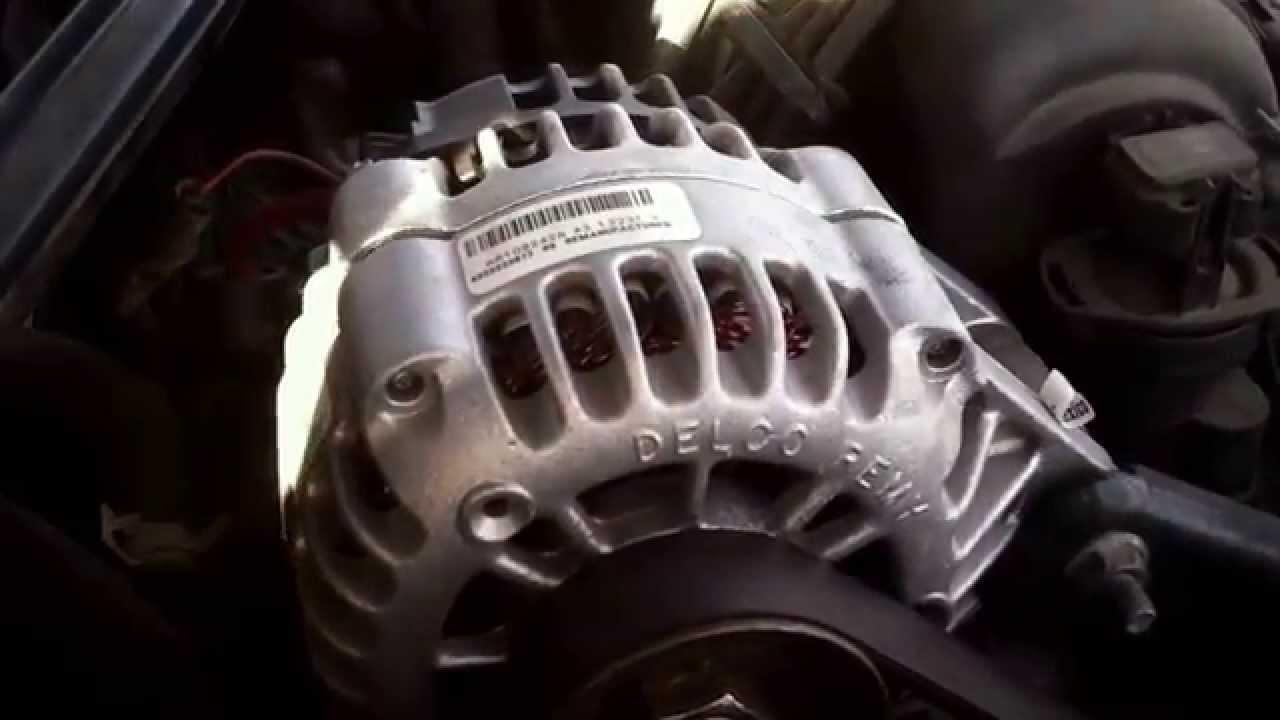 Chevy Lumina Alternator Replacement 3800 Series 2 19952001  YouTube