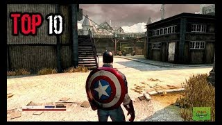 Top Ten Captain America games for Android & ios...