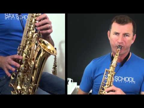 Have Yourself a Merry Little Christmas Saxophone Lesson for Alto Sax