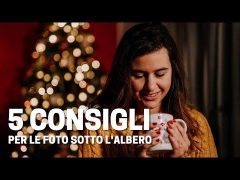 5 CONSIGLI Per Fare Delle FOTOGRAFIE PERFETTE Sotto L'ALBERO DI NATALE!