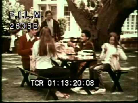 Vintage Trading Lunches (stock footage / archival footage)