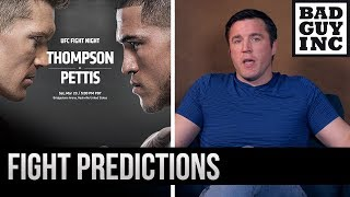 FIGHT PREDICTIONS: Anthony Pettis vs Wonderboy Thompson/Curtis Blaydes vs Justin Willis