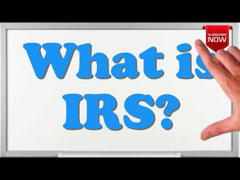 What Is The Full Form Of Irs Youtube