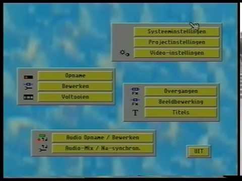 Macrosystem Casablanca classic video editor hands-on - www.retroforum.nl