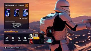 First Order Assault on Jakku - Star Wars Battlefront 2 COOP MODE