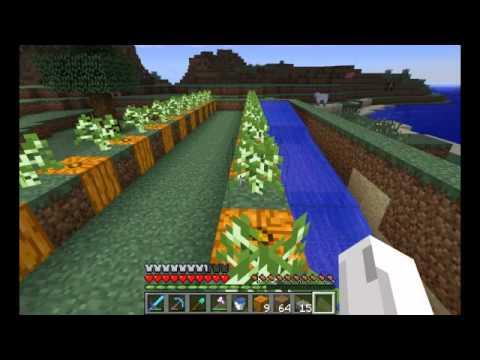 Minecraft med NicklasE - Avsnitt 2: Effektivare trädodling?