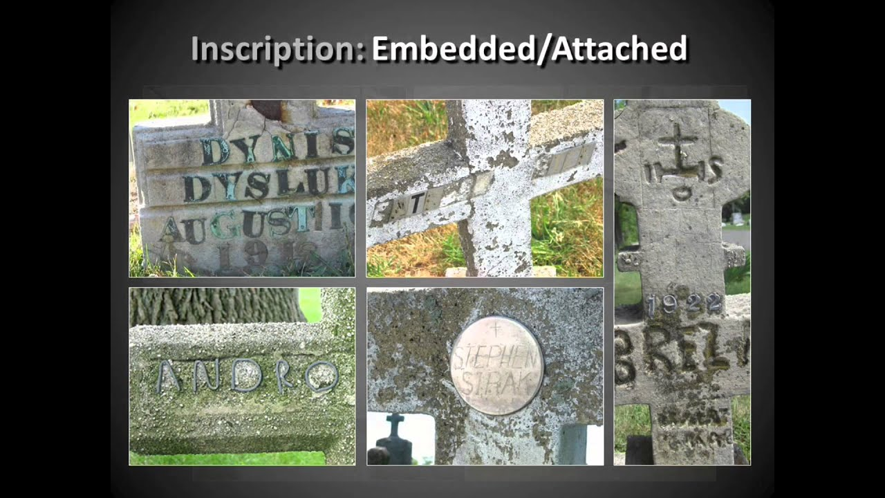 Made From My Own Hand An Introduction To Concrete Grave Markers
