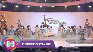 11 Besar Finalis Puteri Indonesia 2018.