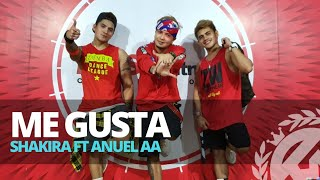 ME GUSTA by Shakira ft Anuel AA | Zumba | Reggaeton | TML Crew Jay Laurente