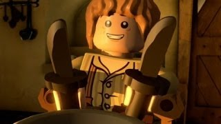 the LEGO Hobbit - Part 2 - Dragon Fighting (Playstation 4 Let's Play / Walkthrough / Gameplay)