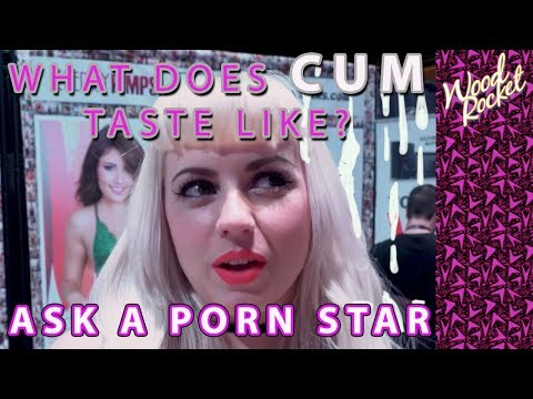 Ask A Porn Star: What Does Cum Taste Like?