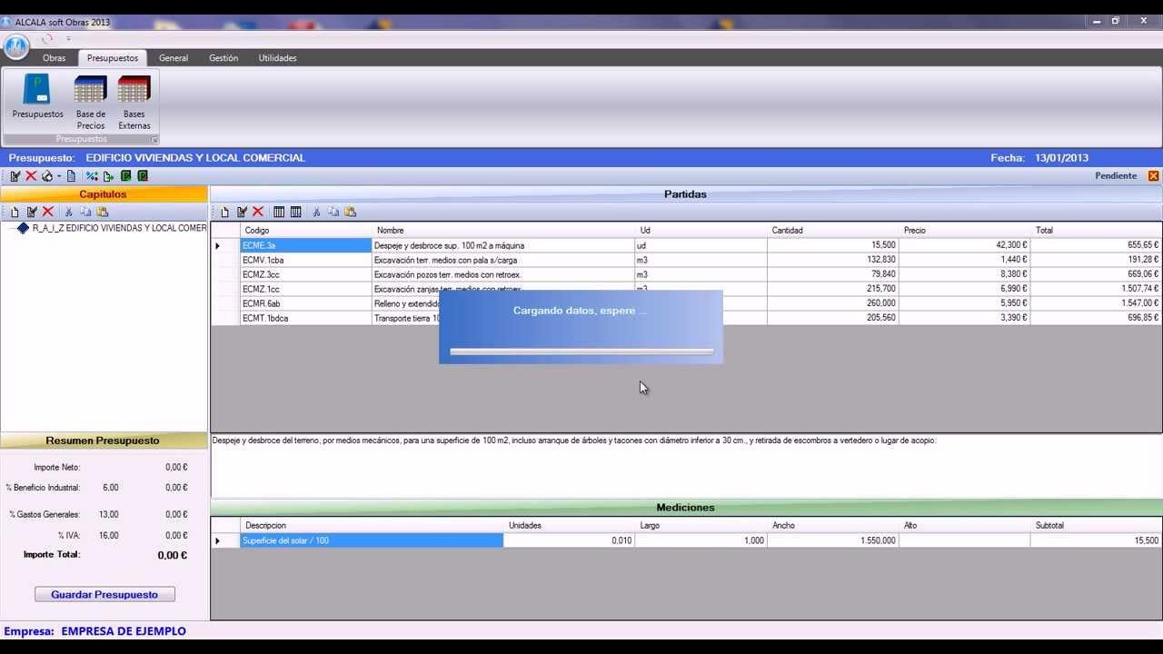 descargar gratis quercusoft presupuesto con keygen