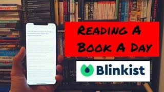 Blinkist Review - Reading A Book A Day