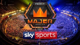 LIVE: FACEIT MAJOR LONDON 2018 -  CS:GO | SEMI FINALS | DAY 3