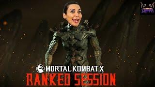 Mortal Kombat X   Ranked Session #122   KRAKEN KARDASHIAN!