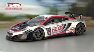 McLaren MP4 12C GT3 in Macau 2011 Videos