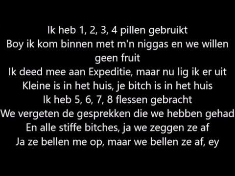 Lil kleine ft Ronnie flex - 1, 2, 3 Lyrics NU MET SONG!!!