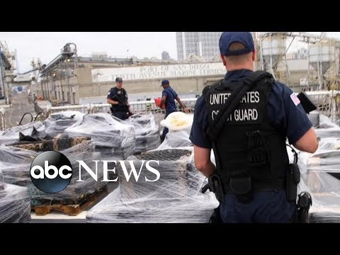 Cocaine cowboys: Inside the US Coast Guard&39;s war on drugs  ABC News