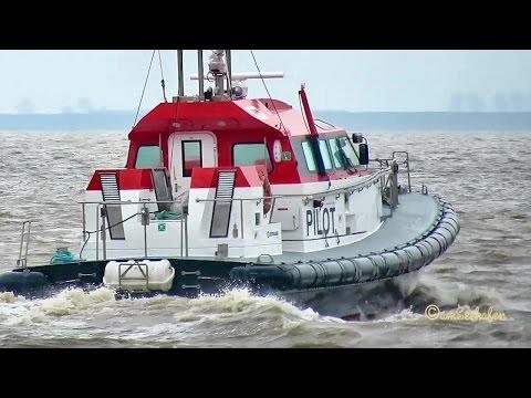 pilot FRYA DBLI MMSI211536810 Emden Germany Lotse Lotsenboot