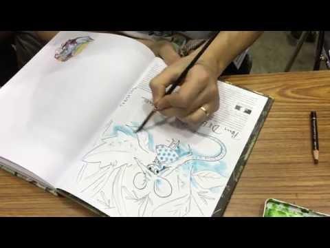 Kerascoet Draws - Pt. 2 - Tokyo International Comics Festival 2015