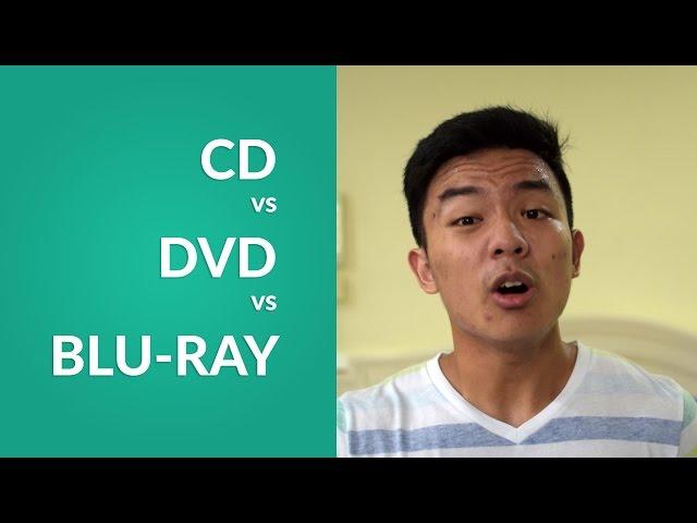 Cd Vs Dvd Vs Blu Ray Youtube
